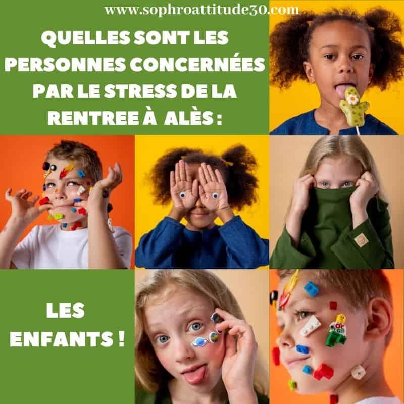 stress de la rentrée les enfants